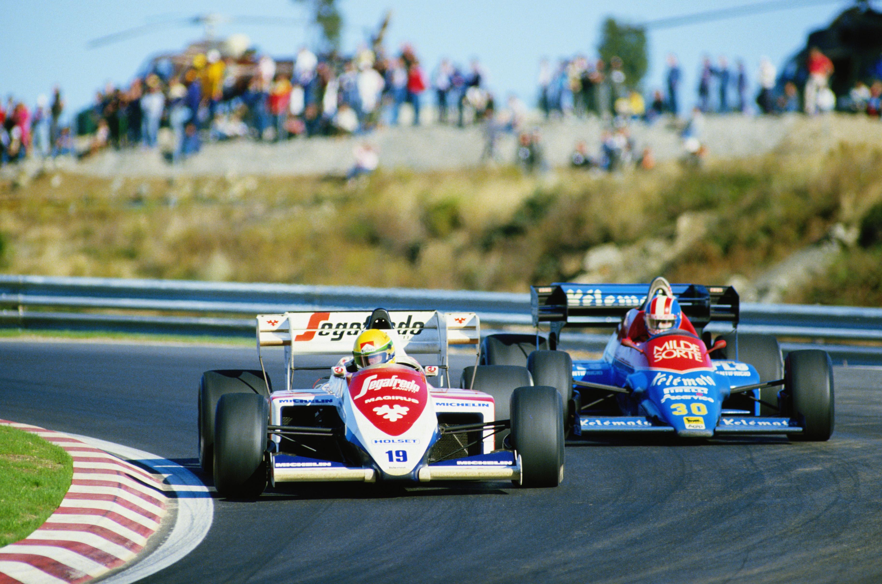 Equipe Toleman de Formula 1 de 1984 - by blogdaggoo.blogspot.com